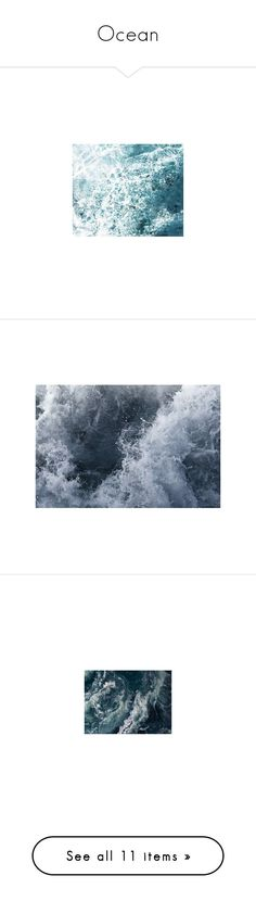 """Ocean"" by drskullz on Polyvore featuring home, home decor, wall art, backgrounds, art, pictures, beach, decor, wallpaper and wave painting"