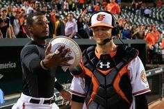 Caleb Joseph now can concede that there were several times during those late-night bus rides through the Eastern League when he considered calling it quits on his lifelong dream of making it to the major leagues. Softball Catcher Quotes, National Baseball League, Backyard Baseball, Adam Jones, Fantasy Baseball, Better Baseball, Bus Ride, Toronto Blue Jays, Baltimore Orioles