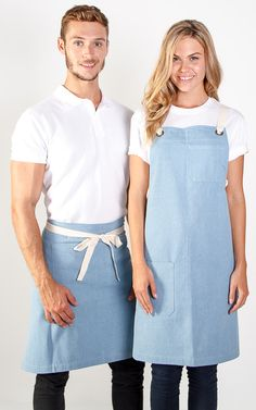 Aprons : A15 Charlie - Denim Waist Apron - 3 colours