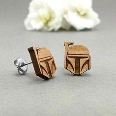 Star Wars Boba Fett Post Earrings