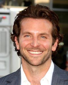 Bradley Cooper Longer #CurlyHair Swooshed Back