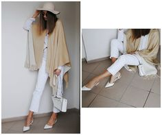 Get this look: http://lb.nu/look/8545595  More looks by Yulia Sidorenko: http://lb.nu/yuliasi  Items in this look:  H&M Hat, Poncho Cape, River Island Jeans, Zara Shoes, Zara Bag, Reserved Sweater   #casual #elegant #street #banggood #zara #layering #russian #russia #blogger