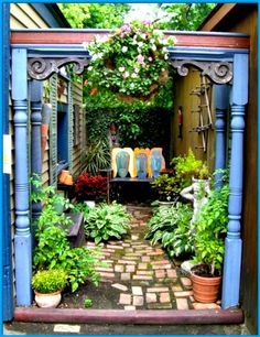 Subject reposted from Pinterest...pleasant garden spot