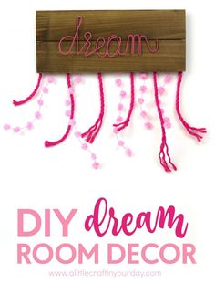 I went a much simpler and rustic way in creating this dreamcatcher-inspired DIY dream room decor piece.