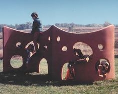 The Playgrounds of Jim Miller-Melberg, 1950s - 1980s - Playscapes