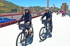 Self-Guided Bike Rentals from San Francisco Bike across the Golden Gate Bridge when you book a bike rental in San Francisco, with pickup in the Marina District. You're provided with everything you need (including map, helmet, lock, and directions) for a day of independent sightseeing, from Crissy Field all the way to the waterfront town of Sausalito. Be sure to bring your camera.Pick up your bike in the Marina District, a neighborhood situated less than 3 miles (4.8 km) away f...