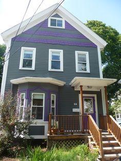 House on Hastings Street near Davis Square