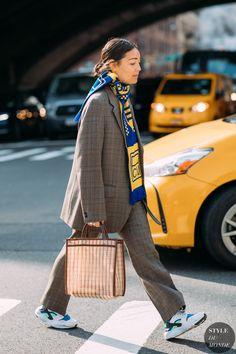 New York FW 2018 Street Style: Rachael Wang