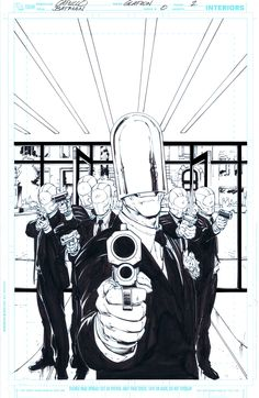 Bang! - Pencil by Greg Capullo & Ink by Jonathan Glapion