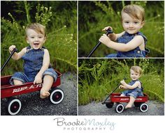 outdoor boy one year old session