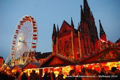 The enchanting #Christmas market in #Mulhouse, Alsace. http://www.frenchmoments.eu/les-etoffeeries-the-christmas-market-of-mulhouse-in-2014/