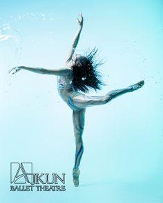 WATER @ Ajkun Ballet Theatre. Dancer: Momoko Sasada
