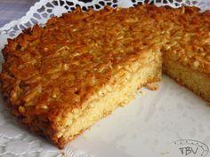Tart Recipes, Sweet Recipes, Baking Recipes, Portuguese Desserts, Portuguese Recipes, Cheesecakes, Almond Tart Recipe, Nutella Cake, Bread Cake