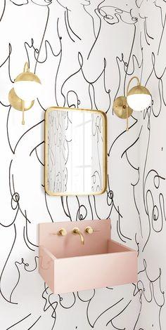 Modern Interior Design, Wallpaper & Removable Decals   drop it MODERN®