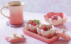 Le Creuset Japan Flower Collection