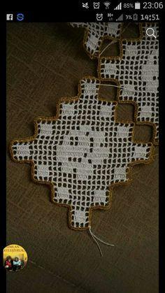 Dantel  motif Crochet Borders, Crochet Squares, Crochet Motif, Hand Crochet, Lace Doilies, Crochet Doilies, Crochet Flowers, Vintage Crochet Patterns, Doily Patterns