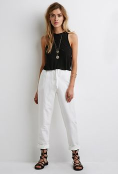 Rock a pair of linen pants to work.