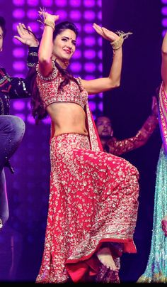 Katrina Kaif performing during Dream Team show. #Bollywood #Fashion #Style #Beauty #Hot #Sexy