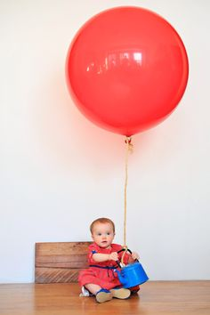 Please meet Big Red Balloon, Scuba Boy, and Tea Party Girl! These balloons typically last a month inflated, but ours popped half wa. Big Balloons, Red Balloon, Family Photo Sessions, Family Photos, Lets Play Music, Bicycle Basket, Carnival Themes, Fire Engine