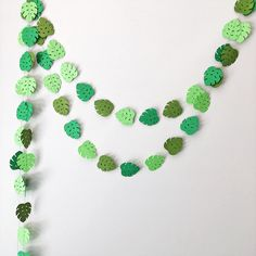Excited to share the latest addition to my #etsy shop: Monstera Leaf Garland Tropical Leaves Paper Garland Green Leaf Tropical Baby Shower Wedding Backdrop Jungle Party Tropical Leaf Bunting