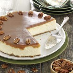 Caramel Praline Cheesecake Recipe