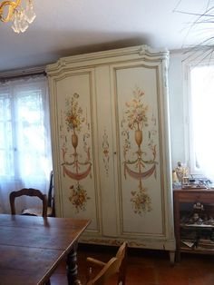 Beautiful European Armoire