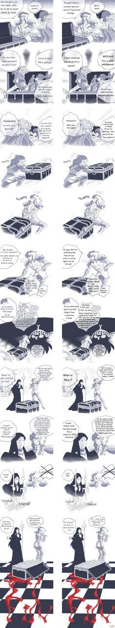 Saint Seiya  parodie 3 by Korin2b.deviantart.com on @DeviantArt