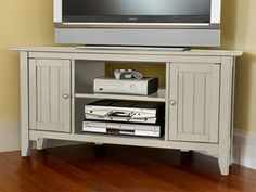 Painted Cottage Corner TV Stand: TV Stands at L.L.Bean