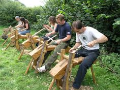 All about green woodworking - information, training, products & services