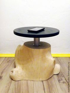 Мебель ручной работы. Ярмарка Мастеров - ручная работа. Купить Кофейный столик / эко лофт из массива березы. Handmade.