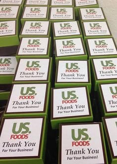 We hope US Foods enjoyed their welcome gift in Punta Cana!