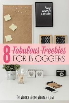 You started blogging, so you could make money from home. But now you find you're constantly putting money into your blog. No worries! Here is a fabulous list of FREE resources especially for bloggers! via The Work at Home Woman: