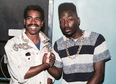 Big Daddy Kane and Kurtis Blow Rap History, History Of Hip Hop, Black History, Brooklyn, Big Daddy Kane, Tupac Pictures, Old School Music, Neo Soul, I Love Music