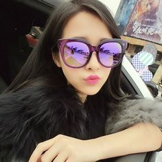 Fashion New Women Sunglasses Retro large frame sun glasses transparent jelly Plaid large metal feet retro gafas de sol-in Sunglasses from Women's Clothing & Accessories on Aliexpress.com | Alibaba Group