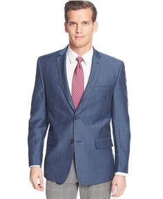 Marc New York by Andrew Marc Solid Linen Sport Coat - Blazers & Sport Coats  -
