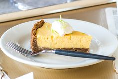 Key lime pie. Photograph by Todd Eyre.