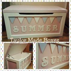 #Personalised #handmade toy box,  View more on the LINK: 	http://www.zeppy.io/product/gb/2/262293822114/