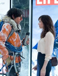"Ben Stiller y Kristen Wiig en""La Vida Secreta de Walter Mitty"" (The Secret Life of Walter Mitty), 2013"