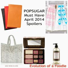 Popsugar must have april 2014 spoilers and discount code