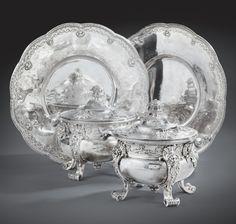 Pots à oille (plat de viandes et de légumes) - 1726-1727 par Nicolas Besnier (1686-1754) acquis récemment par le Louvre Paris