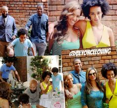 Beyonce, Jayz, Tina, & Solange in New Orleans May 2014
