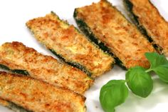Zucchini Oven Fries ~ Healthy Alternative