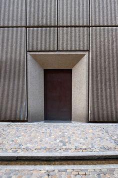 matrice de coffrage pour b ton imprim pour fa ade 2 169 columbia reckli architecture. Black Bedroom Furniture Sets. Home Design Ideas