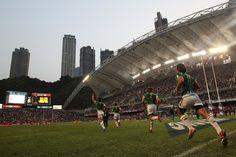 Great shot from the Hong Kong Rugby 7's, Great Shots, World Series, Hong Kong, Basketball Court, Sports, Life, Hs Sports, Sport