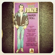The Fonz - paper doll styles