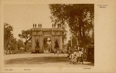 Amsterdams Poort/Batavia Poort/Pinang Poort in Batavia circa 1900.