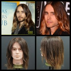 Jared Leto Hair Tutorial - 2014 - Ombre Color & Haircut POST YOUR FREE LISTING TODAY! Hair News Network. All Hair. All The Time. http://www.HairNewsNetwork.com