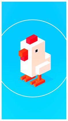Crossy Road Chicken Papercrafts Free Download httpwww
