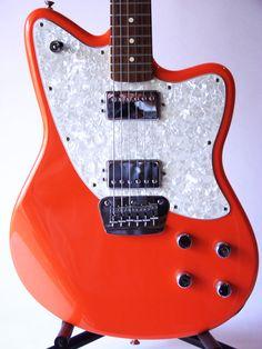 Orange Fender Toronado. Nice!