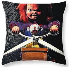"17""x17"" Square Cushion Cover - Chucky! #cushion #cushioncover #square #chucky #home #homedecor #house #present #horror #pillow #pillows #scary #halloween https://m.ebay.co.uk/itm/Chucky-17x17-Square-Cushion-Cover-Pillow-Case-Xmas-Bride-of-Chucky-Horror-/282450061926"